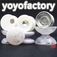 Neu kommen YYF flug YOYO Winter schneeflocke limited edition YOYO antworten loop720 4A Fliegende LED yoyo weihnachtsgeschenk für jungen