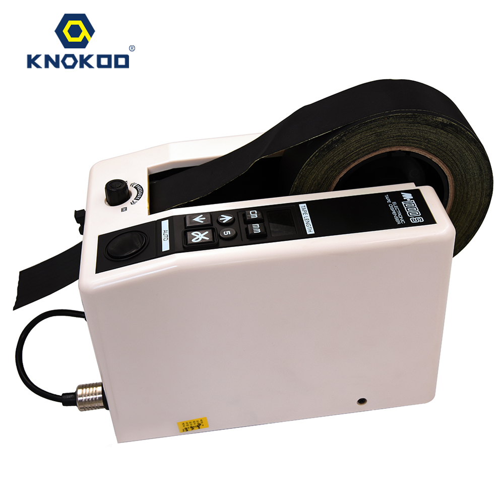 KNOKOO ELectronic Automatic Packing Tape Dispenser M1000S Tape Cutter knokoo electronic automatic packing tape dispenser at 55 gl3000 tape cutter machine