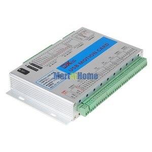 Image 4 - XHC MK4 V Mach3 USB 4 осевая ЧПУ Плата управления движением, коммутационная плата 2 МГц, поддержка возобновления с точки прерывания и отзыва о скорости шпинделя