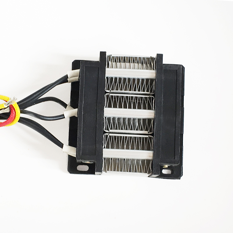 200W AC/DC 24V Insulated heater constant temperature heating element Electric heater 3 row mini ptc ceramic air heater constant temperature heating element 200w 24v 120 50