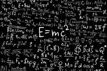 science Albert Einstein Formula Mathematics Physics Special relativity artwork poster Print Waterproof Decor 12″x18″Custom Print
