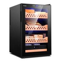 FK 68C temperature and humidity cedar wood shelf mute humidity adjustable electronic cigar moisturizing cabinet