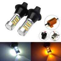 2pcs Lot New Arrival 1156 42 Led Light High Power Daytime Running Lights With Turn Signal