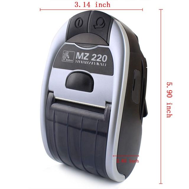 """5set/1 lote nuevo MZ220 impresora MZ 220 originales 2 """"directo de red móvil impresora térmica de recibos con Bluetooth 203 dpi"""