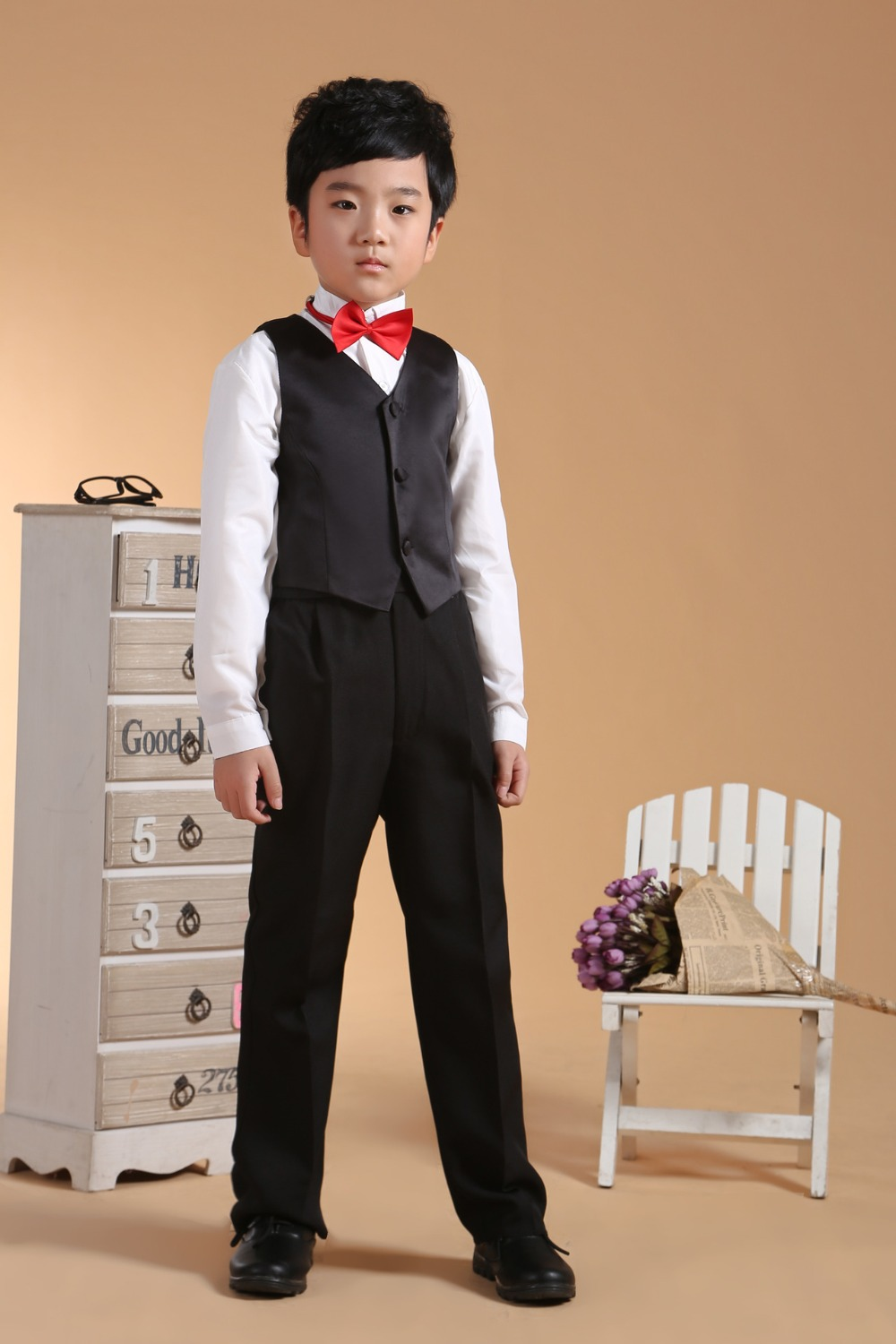 Kids Prom Suits Black Suits Toddler Boys Suits For Weddings Kids ...
