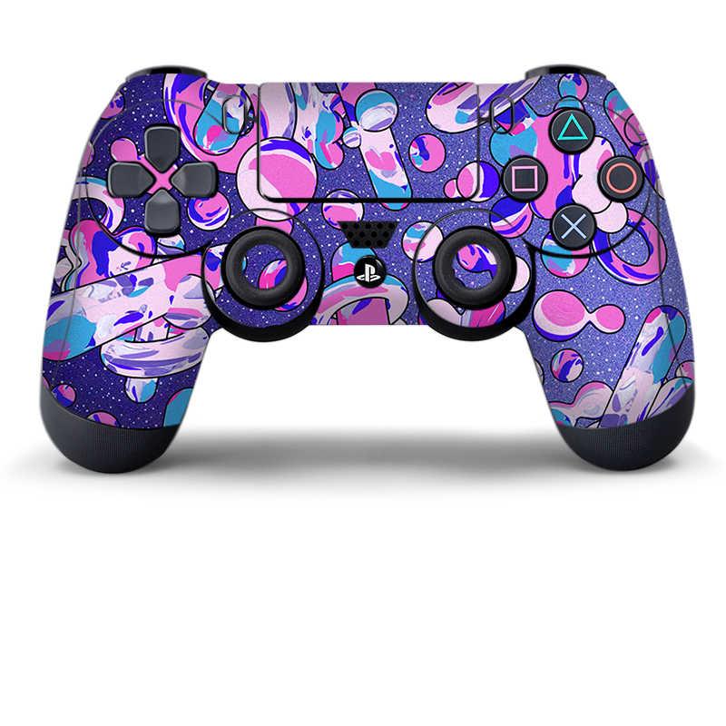 Данных лягушка Защитная Наклейка для PS4 контроллер кожи для Playstation 4 Pro тонкая наклейка аксессуары 15 видов стилей