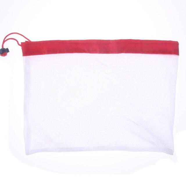 1 sztuk/3 sztuk/5 sztuk wielokrotnego użytku produkcji worki siatkowe liny warzyw zabawki pokrowiec owoce i torby spożywcze siatki do przechowywania torba na zakupy