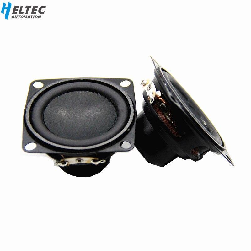 2 шт. 53 мм 2 дюйма 4 Ом 10 Вт Магнитный динамик/бас мультимедийный динамик/маленький DIY домашний динамик