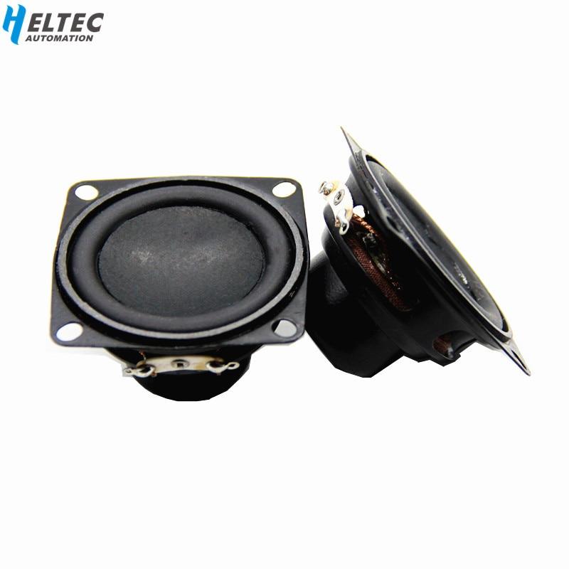 2pcs 40hm 3W Full-range Audio Stereo Speaker 40mm Loudspeakers Woofer Pro New UP