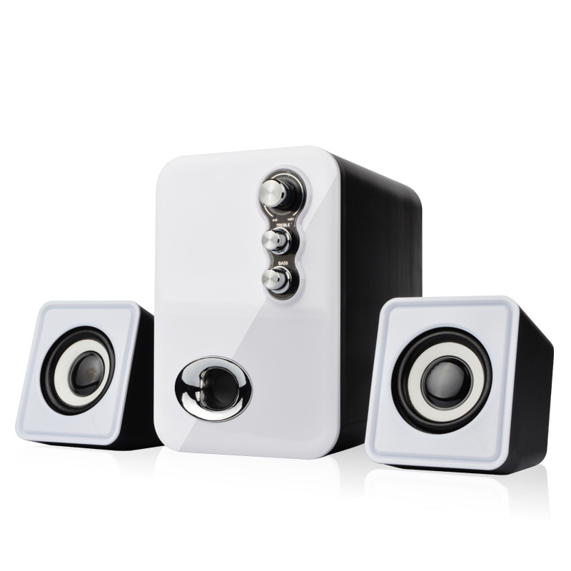 Wired Mini Computer Speakers USB 2.0 Stereo Portable PC Speaker 2.1 Subwoofer Multimedia Mini USB Laptop Desktop Speaker