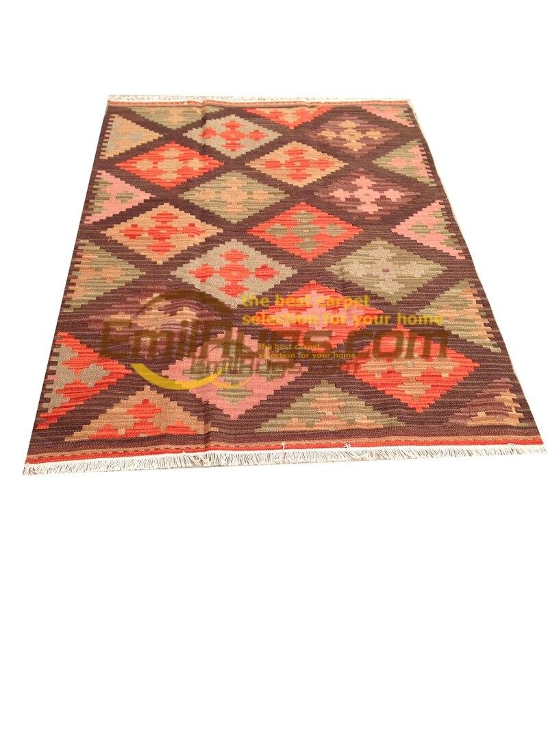 Ручная работа; вязаное; шерстяное Ковры Kilim гостиная ковер Bedroon прикроватные одеяло коридор Средиземноморский стиль 04bgc131yg4