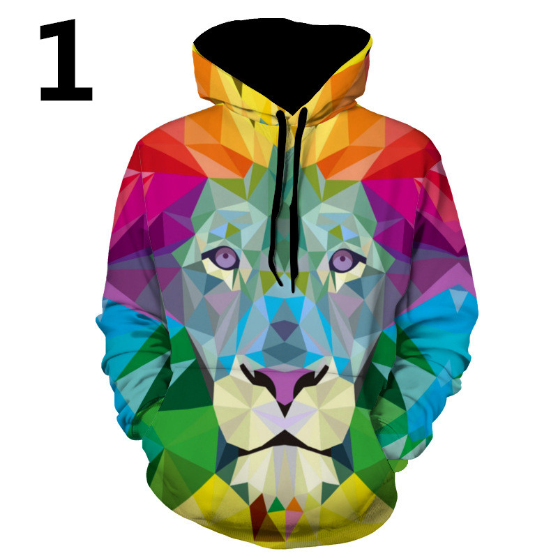Fashion Hoodies Sweatshirts Casual Cartoon Sportswear Printed Long Sleeve Outerwear Hodd ...