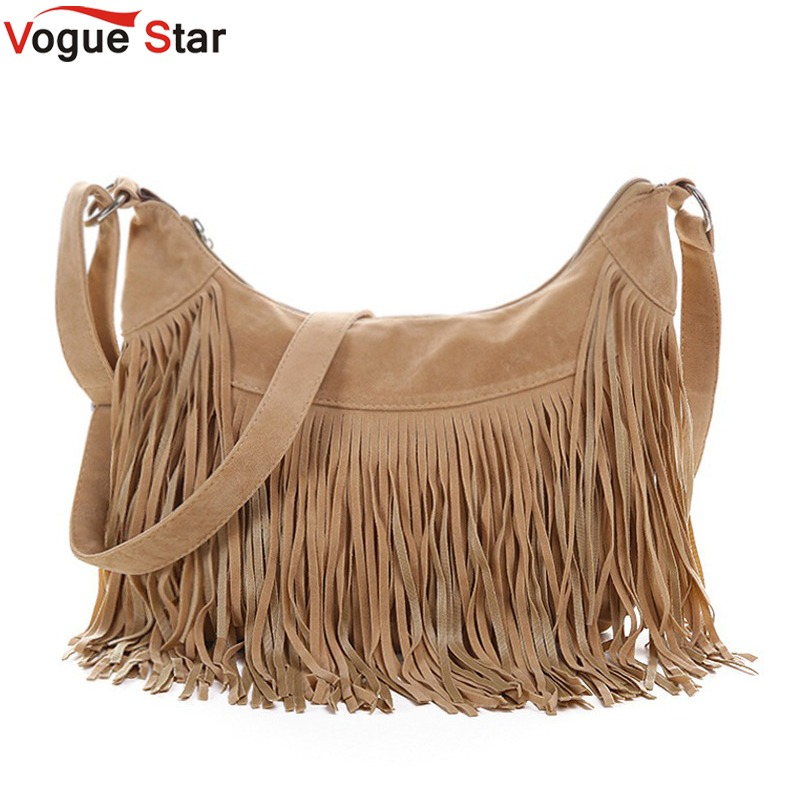 Vogue Star women messenger bags handbags  famous brands fringe tassel bag female bolsas  fashion cross body bag YB40-397 hot sale tassel women bag leather handbags cross body shoulder bags fashion messenger bag women handbag bolsas femininas