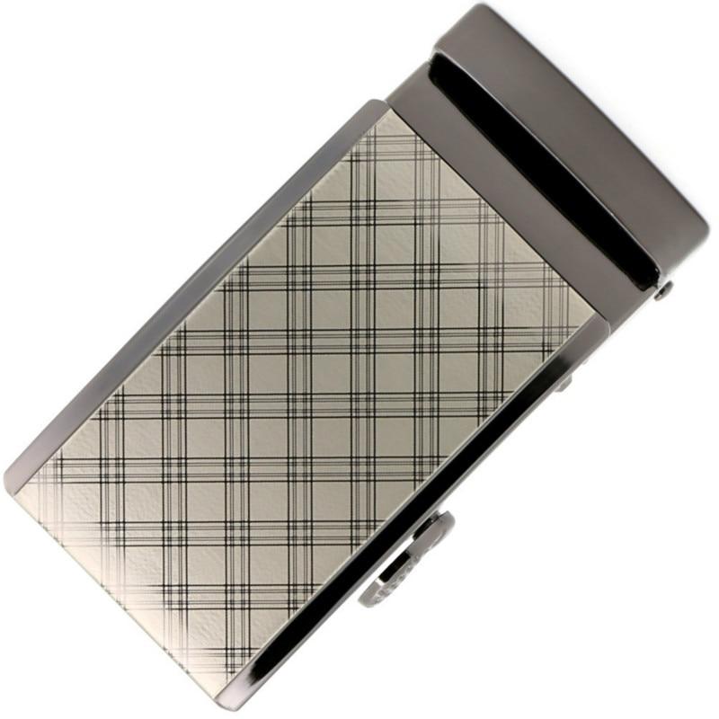 New Zinc Alloy Buckle Men's Belt Buckle Automatic Buckle Men Leather Lead Belt Luxury Mens Automatic Buckle Men Gift LY155-7777