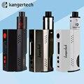 Kanger original vape dripbox + 160 w kit de inicio con 7 ml de capacidad subdrip rda atomizador y tc 160 w dripmod e cigarrillo electrónico