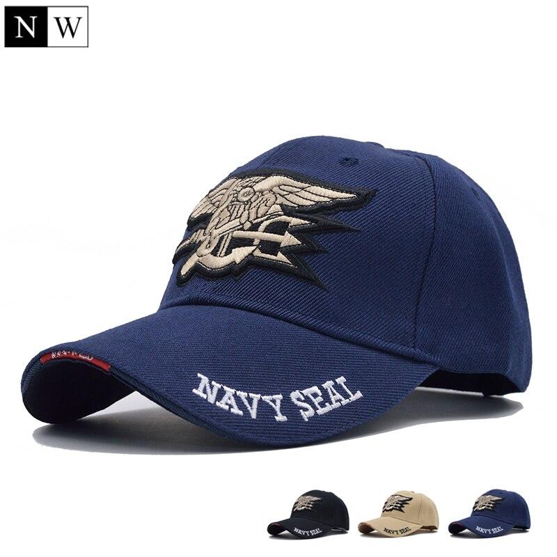 2015 New Arrivals Brand Mens Navy Seals Baseball Cap Cotton Adjustable Navy Seal Military Cap Men Gorras Snapback Hat For Adult бейсболк мужские