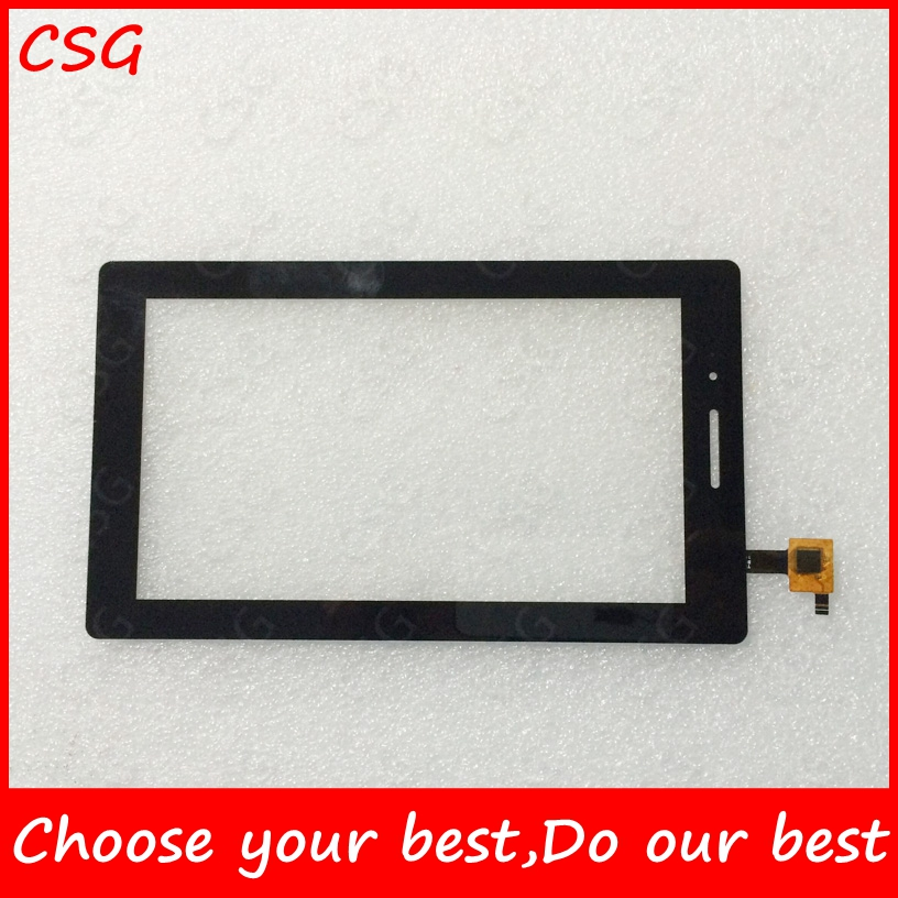 7inch Touch Screen For Lenovo AL710F Touch Screen Digitizer Sensor Glass Panel Lenovo TAB Essential 710F Tab3 TB3-710F TAB3-710F 7 for lenovo tab 3 7 0 710 essential tab3 710f lcd display with touch screen digitizer assembly free shipping