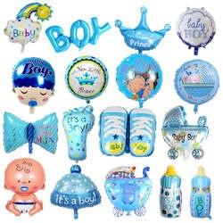 Фольга воздушные шары для маленьких мальчиков детские коляски мяч для девочки день вечерние рождения надувные украшения для вечеринки