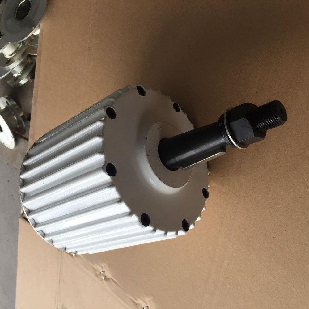 Générateur d'aimant Permanent de WWS-ENERGY AC 1000 W 24 V ou 48 V adapté au générateur d'énergie éolienne