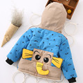 girl cute coat children elephant design cartoon outerwear boy fashion clothes kid warm winter long sleeve clothing girl jacket