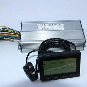 Image 2 - 800W 1000W 35Amax 48V Brushless DC מנוע בקר Ebike בקר + KT LCD3 תצוגת אחת סט