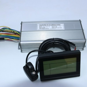 Image 2 - 800W 1000W 35Amax 48V fırçasız DC Motor kontrolörü Ebike denetleyici + KT LCD3 ekran bir Set