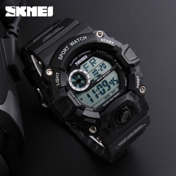 New Brand Men Military Watch LED Digital Watch 50M Waterproof Multifunction Student Army Wristwatches Sports Watches SKMEI Clock 2016 new ohsen brand men boy sports watches led electronic digital watch 50m waterproof casual outdoor dress military wristwatch