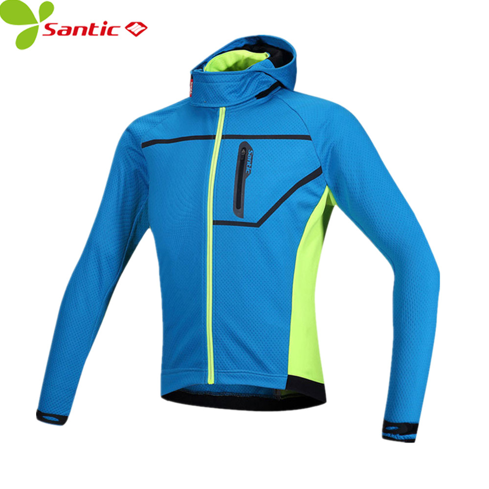 Santic Winter Men Thermal cycling jersey Composite Carbon Fiber Windproof and Waterproof MTB Sports Windbreaker cycling jacket raman bedi rakesh chandra and s p singh fatigue studies on glass fiber reinforced composite materials