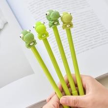 36pcs/lot Cute Kawaii Stationery Dinosaur Black Ink Gel Pen 0.5mm Cartoon Plastic Gel Pens for Writing Office School Supplies стоимость