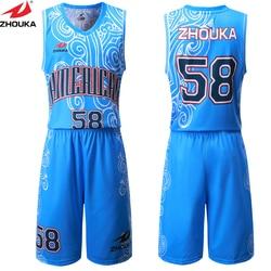 a699324b99d Hot mens breathable basketball jerseys sublimation customizing sports wear  basketball sleeveless uniforms