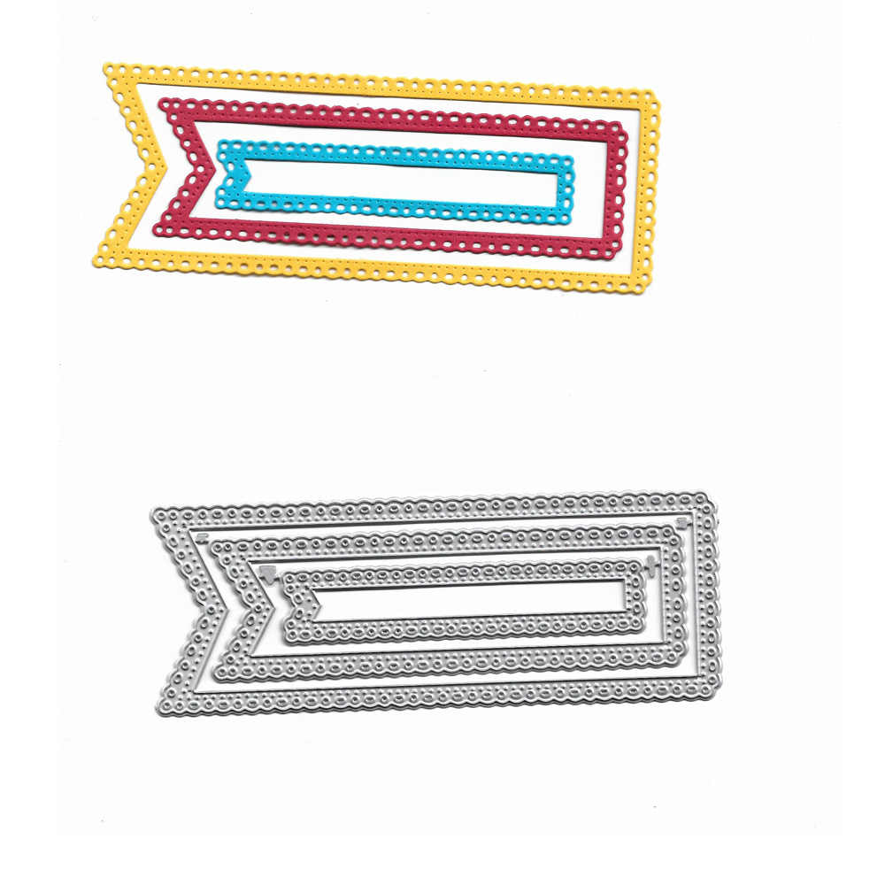 Metal Cutting Dies Cut Dies Banner Label Tag Stencil For Diy Scrapbooking Paper Cards Making Diy Decorative Crafts Die Cuts Aliexpress