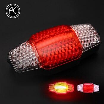PCycling Fietslicht Intelligente Richtingaanwijzer Remlicht USB Oplaadbare Licht COB LED Fietsverlichting Fietsen Laser Achterlicht