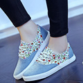 Spring Summer Trend Women Shoes Print Flat Canvas Shoes Woman Low top Leisure Casual Shoes for Women Mujer Zapatillas