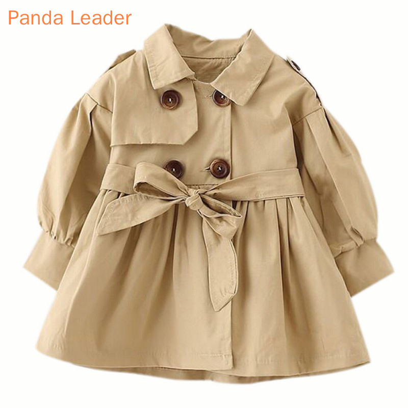 Jaqueta de bebê casaco infantil menina casaco de bebê 2019 primavera bebê jas trincheira duplo breaker peito para a menina crianças jaqueta para 1-4 t