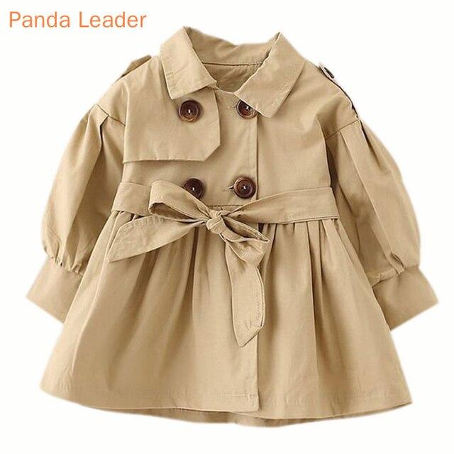ベビージャケットcasaco infantilガールベビーコート2019春ベビーjasトレンチダブルブレストウインドブレーカー子供のためのジャケットのための1 4t