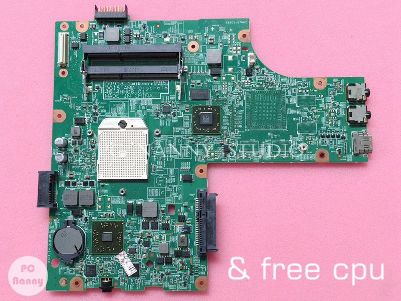 NOKOTION laptop Mainboard motherboard for dell Inspiron 15R M5010 YP9NP 0YP9NP 48 4HH06 011 HD4200 free