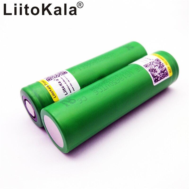 Liitokala Pour Sony 18650 3000 mAh 30A 100% puissance au lithium batterie us18650 vtc6 électronique fumée batterie