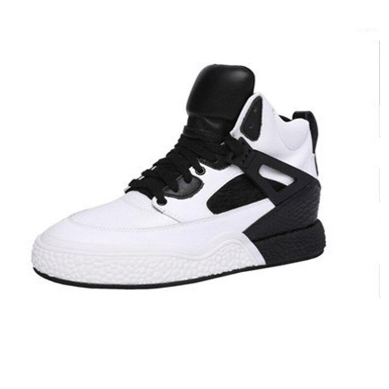 2019 neue frühling flansch sneaker schuhe multi farbe sport schuhe schwarz mit weiß frauen casual schuhe größe 34 40-in Flache Damenschuhe aus Schuhe bei  Gruppe 1