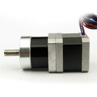 4 Wire NEMA17 Planetary Geared Stepper Motor Gear Ratio 1 5 Motor Length 38mm 1 2A