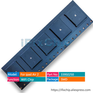 Image 2 - 10pcs/lot For ipad air 2 for ipad 6 high temperature wifi ic 339S0250 (only for wifi version) A1566