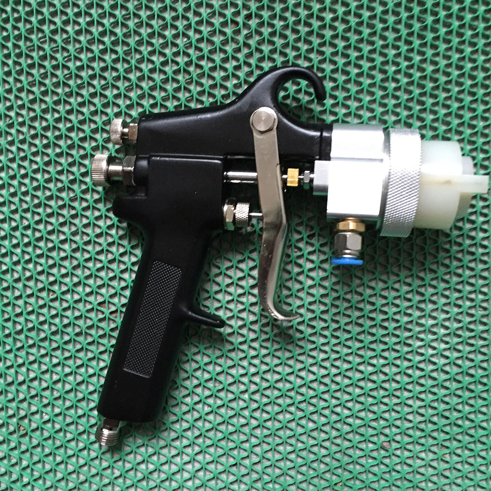SAT1182 two component spray gun pneumatic paint pressure spray on chrome wood tools hvlp sat1065 b high pressure foam spray airbrush powder coating spray gun hvlp pneumatic paint gun metal machine pneumatic tools