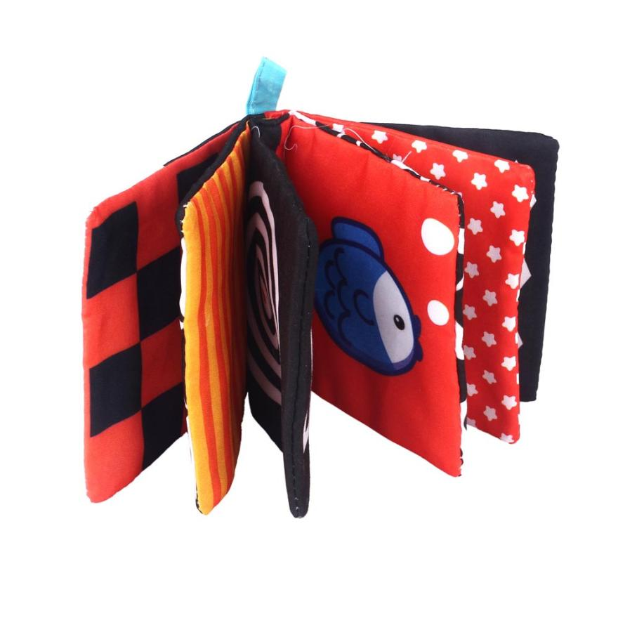 Train Baby's Vision Cloth Book, Let The Baby Sleep Peacefully, Pure Cotton Production, Health And Health. 4.30