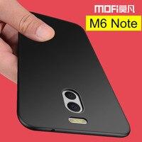 Meizu M6 Note case MOFi original M6 Note Meizu back cover hard PC protective black phone capas Meizu M6 Note case cover 5.5