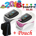 Black case plus*** Fingertip pulse oximeter SPO2 PR monitor OLED display oxymetre pulsi oxmetre