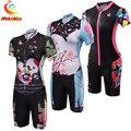 Триатлонный костюм женский 2019 Pro Team Ropa Ciclismo велорубашка из велосипедного трикотажа наборы одежды Skinsuit комбинезон летняя спортивная одежда