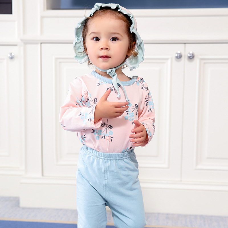 2018 New arrival multicolor Boys Girls Clothing Long Sleeve adorable cotton font b Baby s b