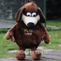 KIDS BACKPACK TIMMY TIME PLUSH TOY RUFFY THE DOG SOFT DOLL BAG