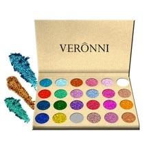 24 Colors Glitter Eyeshadow Palette Pressed Powder Rainbow Diamond Eye Shadow Makeup Palette Shimmer Smokey Eyes Cosmetics