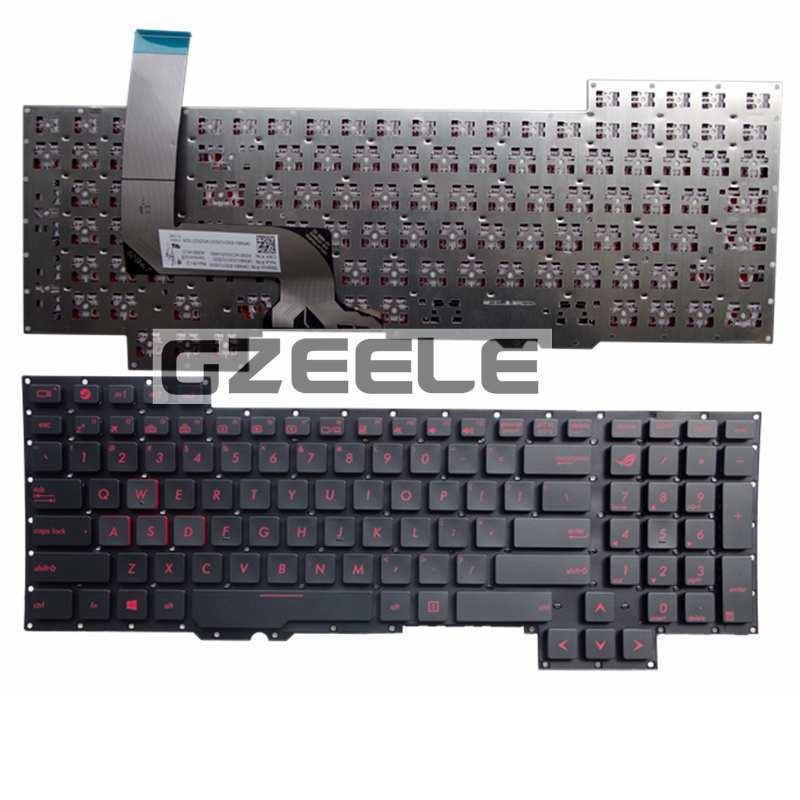 NEW keyboard For Asus G751 G751JM G751JT G751JY 0KNB0-E601RU00 ASM14C33SUJ442 US Replace laptop keyboard