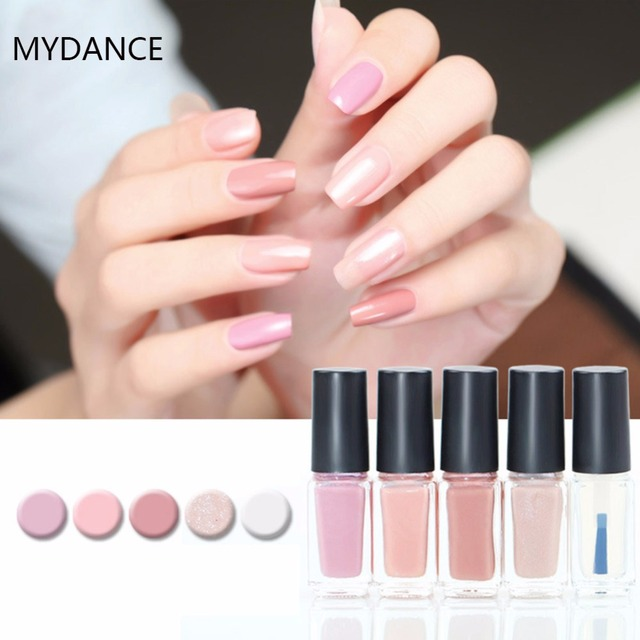 MYDANCE 5ML Non toxic Nail Art Polish Party Varnish Beauty Manicure ...